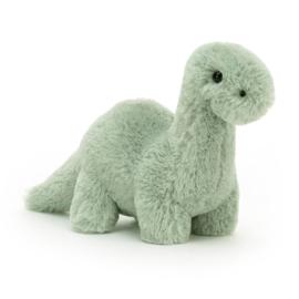 Jellycat Fossilly Brontosaurus Mini knuffel