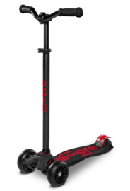 MAXI MICRO STEP DELUXE PRO ZWART/ROOD