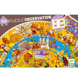 Djeco Observatie puzzel History 350 stukjes (7+)