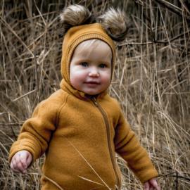 Mikk-line wollen suit Golden Brown