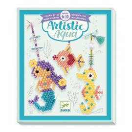 Djeco Artistic Aqua Beads Zeebewoners (6+)