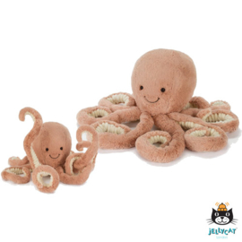 Jellycat knuffel Odell Octopus junior