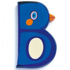 Djeco houten letter B