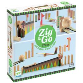 Djeco Zig & Go kettingreactiespel 27-delig (8+)