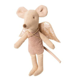 Maileg Fairy mouse little sister naturel