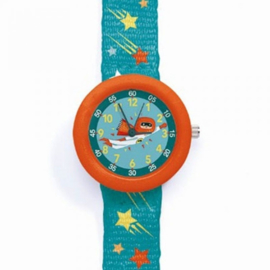 Djeco kinderhorloge Super Hero