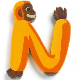 Djeco houten letter N