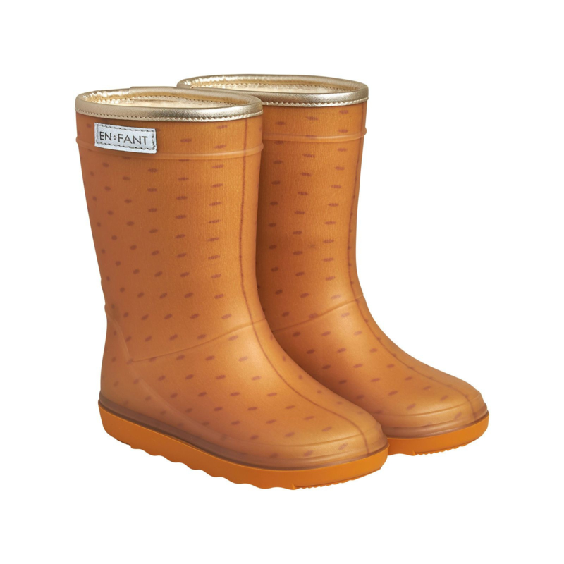 * Enfant * Thermo Boots Inca Gold