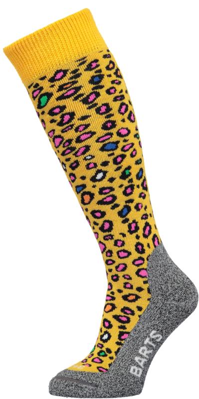 Barts skisock Animal yellow
