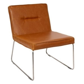 Butik Living Lefty Stoel - Cognac