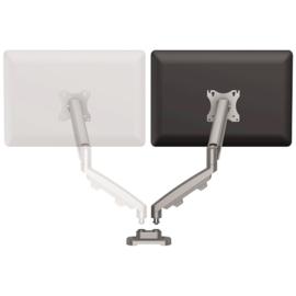 Eppa Dubbele Monitorarm Kit - zilver