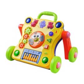 Baby loopkar - Baby walker - Leren lopen - Met geluiden en Muziek