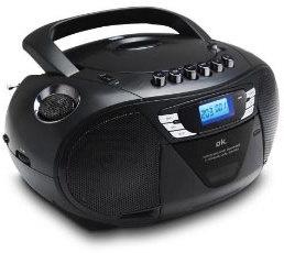 OK Draagbare CD-radio Zwart (ORC 530-B)