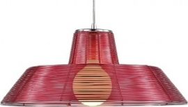 Zuiver Hanglamp Gary 45 cm  - Red