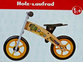 Houten Loopfietsje vanaf 1,5 jaar - Jongen