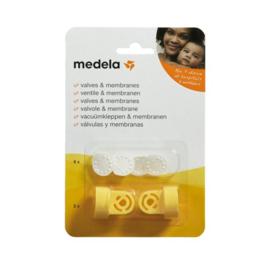 Medela Vacuümset 2x klephuis + 6x membraan