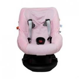 Snoozebaby Autostoelhoes Cosy Travel - Powder Pink
