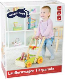 Houten loopkar  Small Foot - dieren-revue
