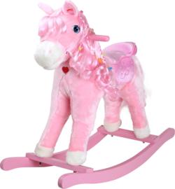 """Houten Hobbelpaard Pony """"Pinky"""""""