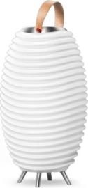 Kooduu Synergy 65S - Bluetooth Speaker - LED Lamp - Wijnkoeler - Ø 41 cm - 4.8L - Wit