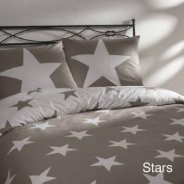 Day Dreams Stars Dekbedovertrek 240 x 200/220 - Zand