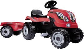 Smoby Traptractor Rood Traktor Farmer XL 3032167101082
