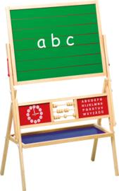 Houten schoolbord