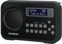 Sangean DPR-67 - Radio met DAB+ - Zwart
