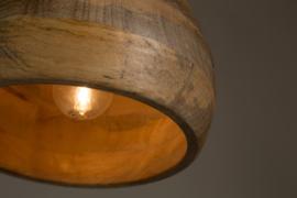 Dutchbone Woody Hanglamp 20x15 cm (Ø x H)