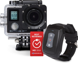 Nikkei Extreme X8S Wi-Fi 4K action camera incl. afstandsbediening