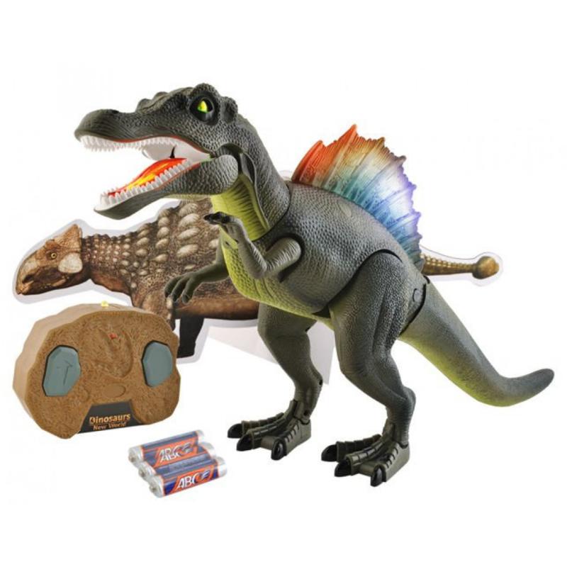 Dinosaurus Robot met Afstandsbediening , Geluiden en Lichten