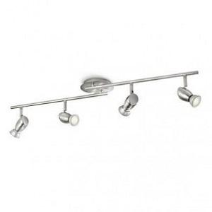 Philips MyLiving Cheastnut Plafondspots (4-licht) - Nikkel