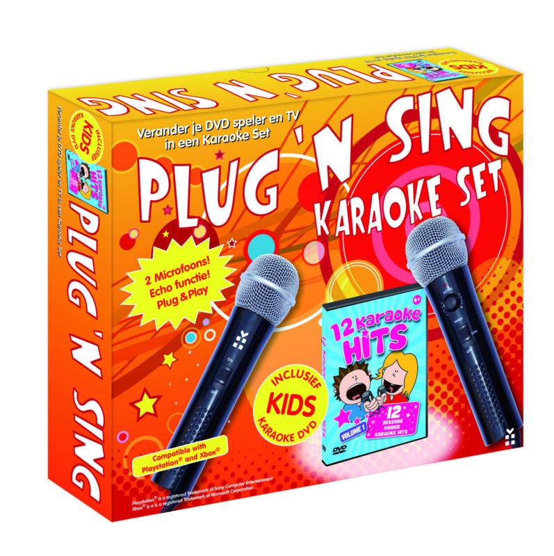 Plug 'n Sing Karaoke Set