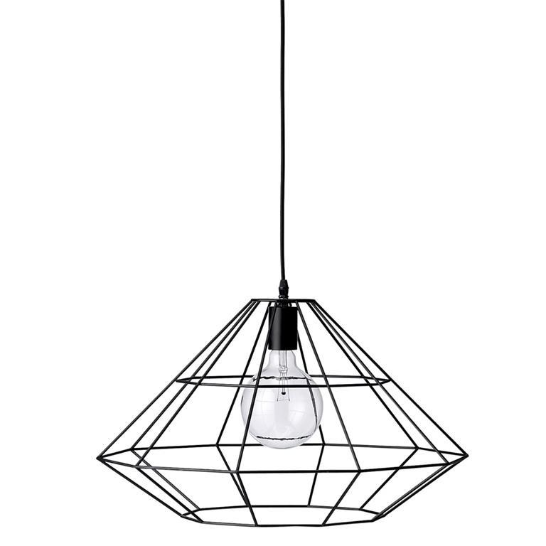 Bloomingville Pendant Hanglamp - Metaal Zwart