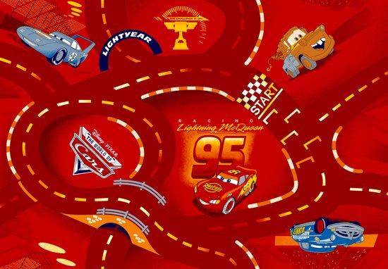 Verkeerskleden Cars Red - Speelkleed - Rood