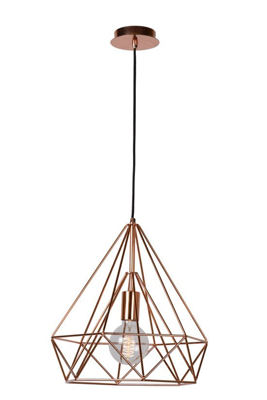 Lucide ricky hanglamp koper.jpg