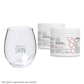 2x Collageen Skin Booster + gratis Glas
