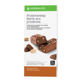Proteïnereep Chocolade Pinda 14 stuks