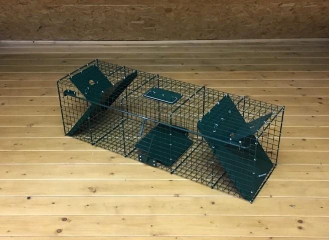 Doorloopvangkooi -M- (Konijnen, katten, ratten, marters etc.)