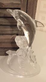 Glazen dolfijn