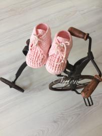 Roze hoge schoentje