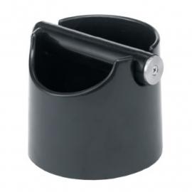 Uitklopbak basic zwart plastic + siliconen