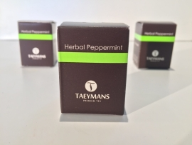 TAEYMANS PREMIUM TEA Herbal Peppermint (48 doosjes - display)