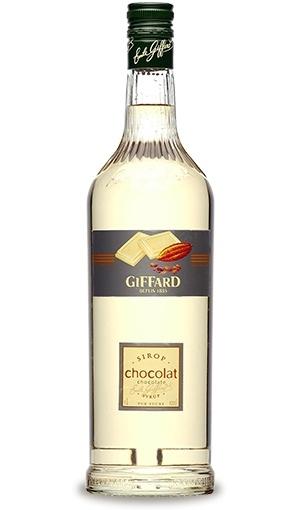 Witte Chocolade siroop 1L Giffard