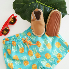 Baby - Leather Espadrilles - Sand
