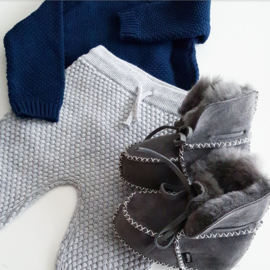Baby - Lammy Booties - Grey Rocks!