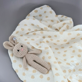Muslin Swaddle XL - Dots