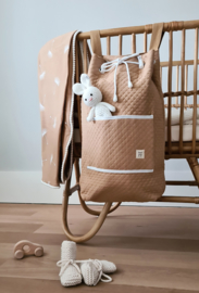 Quilted Storage Bag - Beige