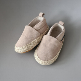 Baby - Suede Espadrilles - Oatmeal