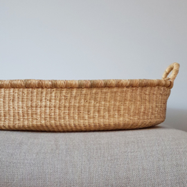 Baby Changing Basket - no. 02 - Neutral - Vegan SOLD OUT